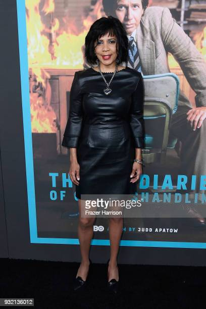 """Penny Johnson Jerald attends the screening of HBO's """"The Zen Diaries Of Garry Shandling"""" at Avalon on March 14, 2018 in Hollywood, California."""