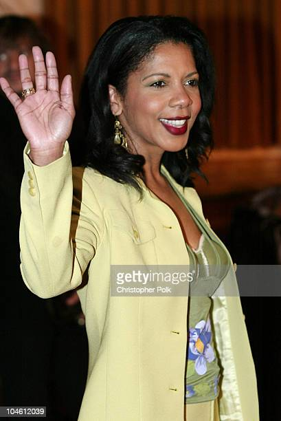 Penny Johnson Jerald during InStyle Sneak Peek at Red Carpet Fashion for the 2003 Awards Season at Beverly Hills Hotel in Beverly Hills, CA, United...