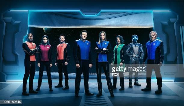 Penny Johnson Jerald, Mark Jackson, Seth MacFarlane, Peter Macon, Scott Grimes, Adrianne Palicki, J Lee and Halston Sage in the Old Wounds episode of...