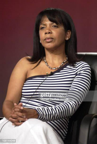 """Penny Johnson Jerald of """"DC 9/11"""" at the 2003 Showtime TCA Presentation"""