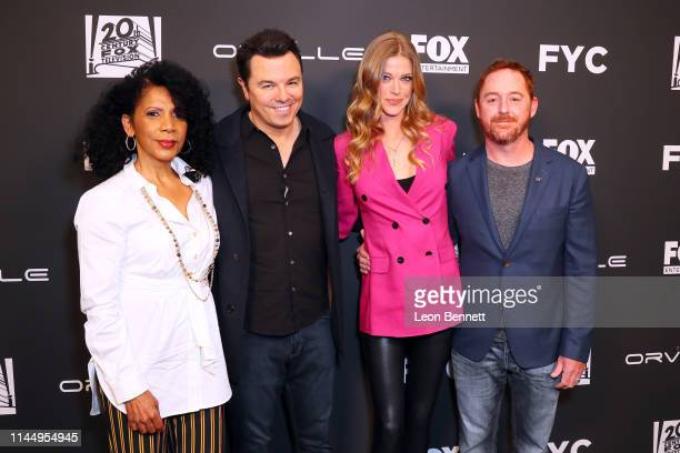 Penny Johnson Jerald Seth MacFarlane Adrianne Palicki and Scott Grimes attend FYC Special Screening Of Fox's The Orville at Pickford Center for...