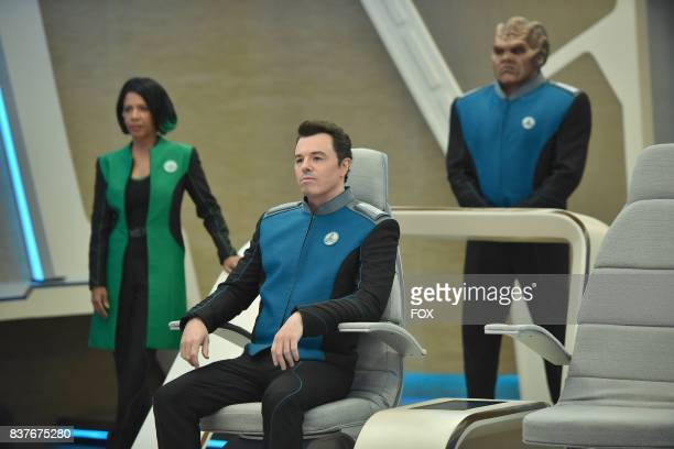 Penny Johnson Jerald Seth MacFarlane and Peter Macon in the new space adventure series from the creator of 'Family Guy' The first part of the special...