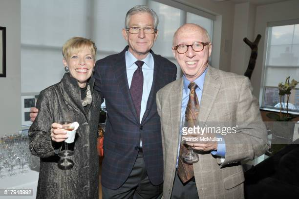 Penny Katz John Wilkerson and Allan Katz attend Laura and Richard Parsons Host the Celebration of The AMERICAN FOLK MUSEUM'S Advocates for the Arts...