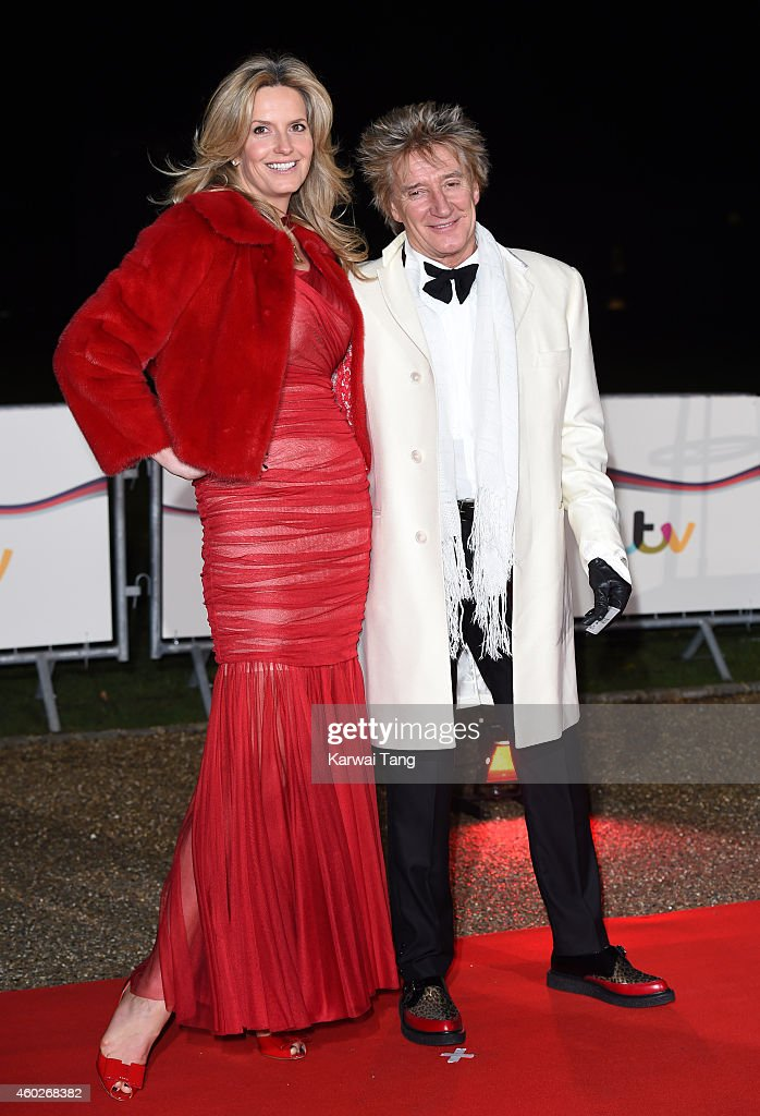 Penny Lancaster and Rod Stewart attend A Night Of Heroes: The Sun Military Awards at National Maritime Museum on December 10, 2014 in London, England.