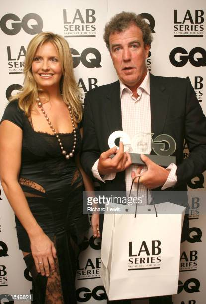 Penny Lancaster and winner of best TV Personality Jeremy Clarkson