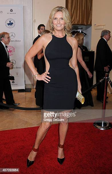 Penny Lancaster arrives at the 2014 Carousel Of Hope Ball Presented By MercedesBenz at The Beverly Hilton Hotel on October 11 2014 in Beverly Hills...