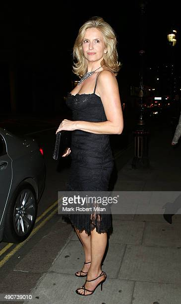 Penny Lancaster at the Reality TV awards on September 30 2015 in London England