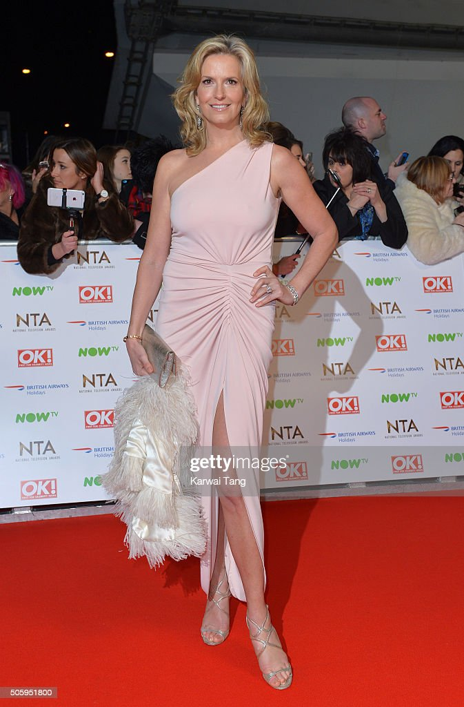 Penny Lancaster attends the 21st National Television Awards at The O2 Arena on January 20, 2016 in London, England.