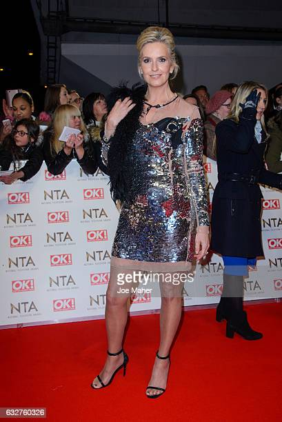 Penny Lancaster attends the National Television Awards on January 25, 2017 in London, United Kingdom.