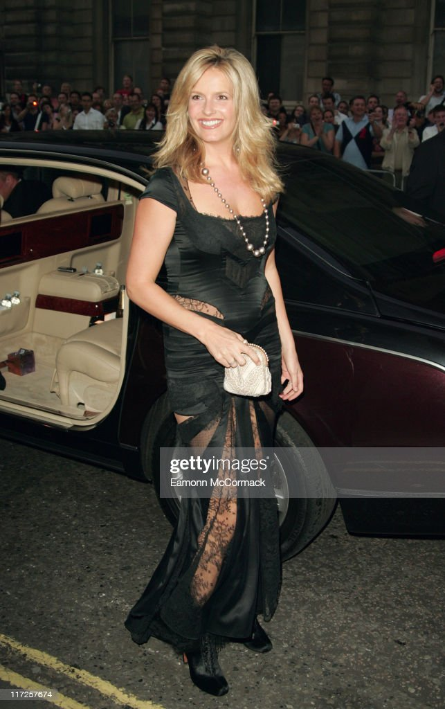 Penny Lancaster during GQ Men of the Year Awards - Outside Arrivals at Royal Opera House in London, Great Britain.