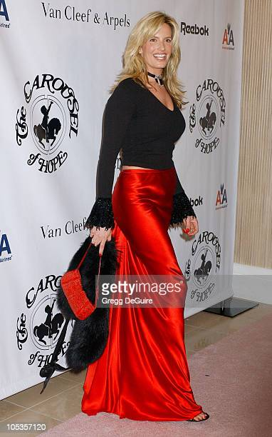 Penny Lancaster during Mercedes Benz Presents the 16th Annual Carousel Of Hope Gala Arrivals at Beverly Hilton Hotel in Beverly Hills California...