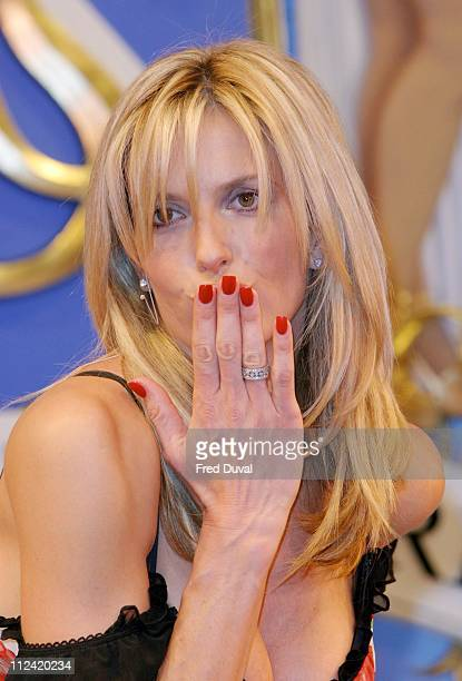 Penny Lancaster during Tonight's The Night Charity Gala Performance Show at Victoria Palace Theatre in London Great Britain
