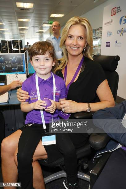 Penny Lancaster representing CaudwellÊattends GFI Charity Day 2017 on September 11 2017 in London England