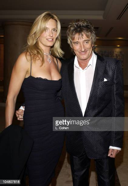 Penny Lancaster Rod Stewart during Rod Stewart Performing Songs From It Had To Be You at St Regis Hotel in Los Angeles CA United States