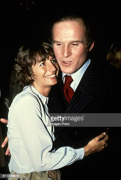 Penny Marshall and Charles Grodin circa 1979 in New York City