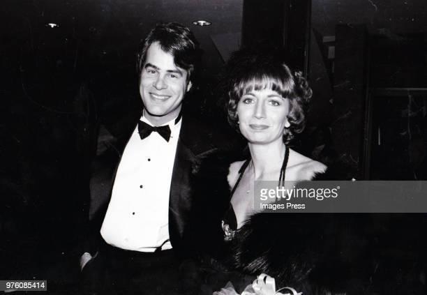 Penny Marshall and Dan Aykroyd circa 1980 in New York.