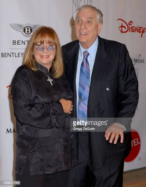 Penny Marshall and Garry Marshall during Wish Night 2006 Awards Gala Arrivals at Beverly Hills Hotel in Beverly Hills California United States