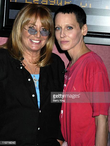 Penny Marshall and Lori Petty during Hollywood's Master Storytellers Present 'A League of Their Own' Screening and appearance with Penny Marshall and...