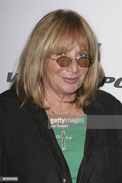 Penny Marshall arrives at Versus Sport and NBA 2K10 video game launch at Capitol City on September 18 2009 in Los Angeles California