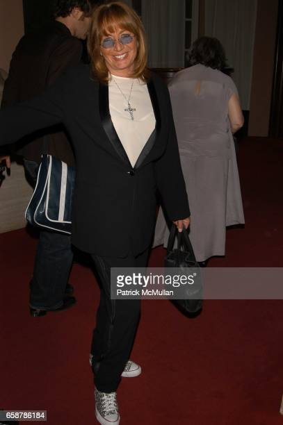 Penny Marshall attends Clive Davis preGrammy Awards party at Beverly Hills Hotel on February 7 2004 in Los Angeles CA