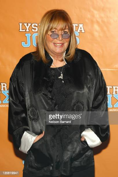 Penny Marshall attends the Lysistrata Jones Broadway opening night after party at the New Liberty Theatre on December 14 2011 in New York City