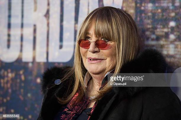 Penny Marshall attends the SNL 40th Anniversary Celebration at Rockefeller Plaza on February 15 2015 in New York City
