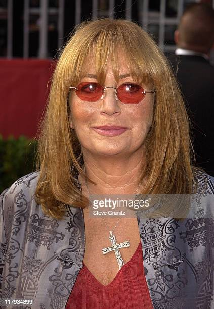 Penny Marshall during 2002 ESPY Awards Arrivals at The Kodak Theater in Hollywood California United States
