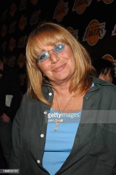 Penny Marshall during 2nd Annual Lakers Casino Night Benefiting the Lakers Youth Foundation Red Carpet and Inside at Barker Hanger in Santa Monica...