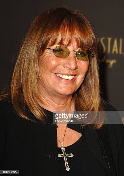 """Penny Marshall during Los Angeles Opening Night of The Tony Award Winning Broadway Show Billy Crystal """"700 Sundays"""" at Wilshire Theatre in Beverly..."""