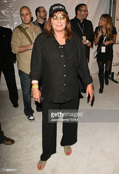 Penny Marshall during TMobile Sidekick 3 DWade Edition launch Red Carpet at The Palms in Las Vegas California United States