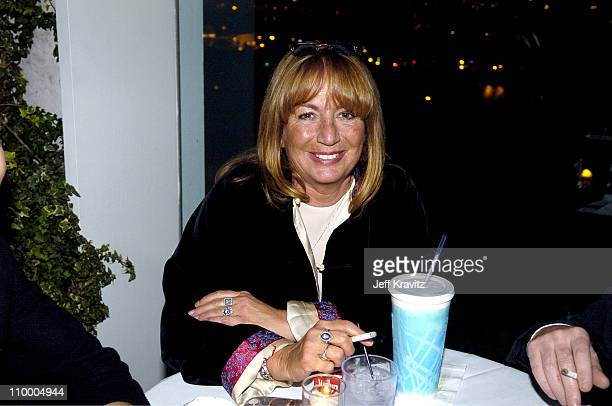 Penny Marshall during Trident White Presents Black and White Party Hosted by McG and Stephanie Savage Benefitting Martin Scorsese's Film Foundation...