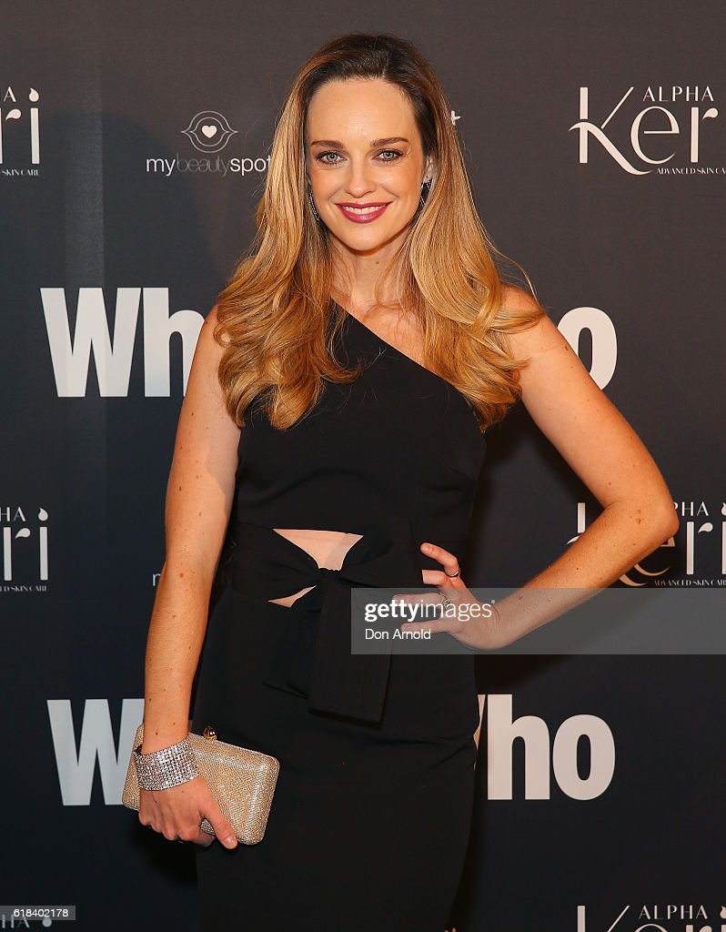 Penny McNamee arrives ahead of the WHO Sexiest People Party on October 26, 2016 in Sydney, Australia.