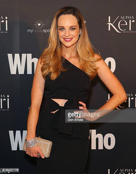 Penny McNamee arrives ahead of the WHO Sexiest People Party on October 26 2016 in Sydney Australia