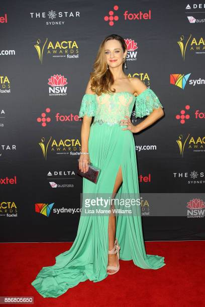 Penny McNamee attends the 7th AACTA Awards Presented by Foxtel   Ceremony at The Star on December 6 2017 in Sydney Australia