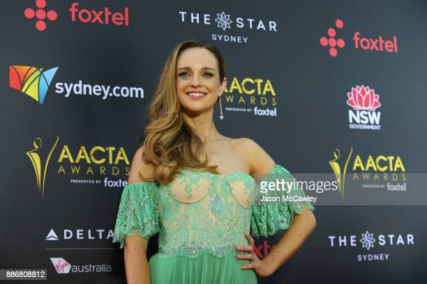 Penny McNamee attends the 7th AACTA Awards Presented by Foxtel | Ceremony at The Star on December 6 2017 in Sydney Australia