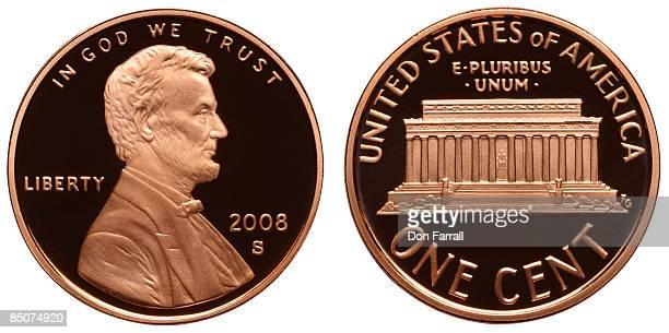 Penny, mint proof