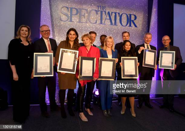 Penny Mordaunt Ian Austin The Spectator Parliamentarian Of The Year Awards at Rosewood London on January 22 2020 in London England