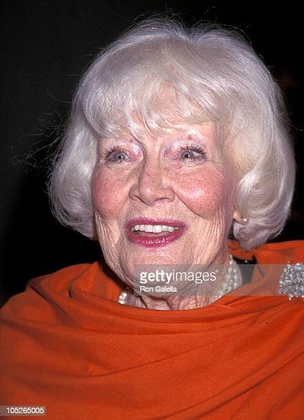 Penny Singleton during The American Cinema Awards Foundation Honors Richard Dreyfuss at Westin Bonaventure Hotel in Los Angeles CA United States