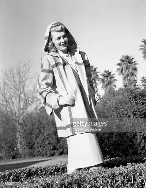 Penny Singleton poses for a fashion shoot She portrays Blondie Bumstead in the CBS Radio program Blondie Image dated February 1 1947 Hollywood...