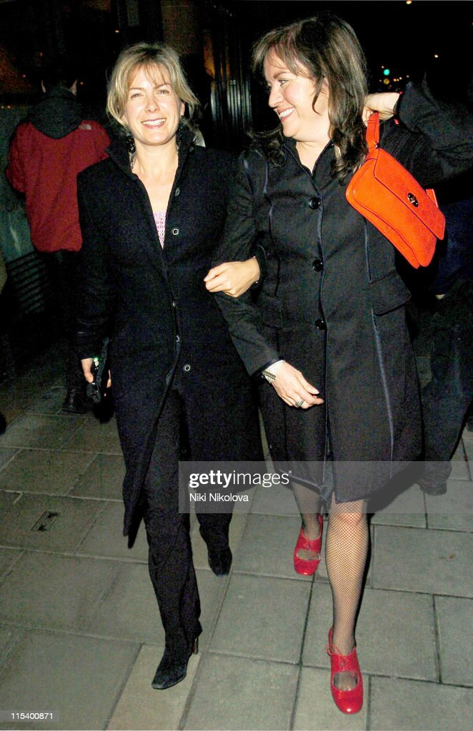 Celebrity Sightings at the Cipriani Restaurant in London - January 20, 2006 : News Photo