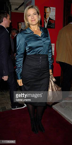 Penny Smith attending the Swimming with Sharks Gala Performance at Vaudeville Theatre on October 17 in London England