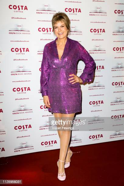 Penny Smith attends the 2019 Costa Book Awards held at Quaglino's on January 29 2019 in London England