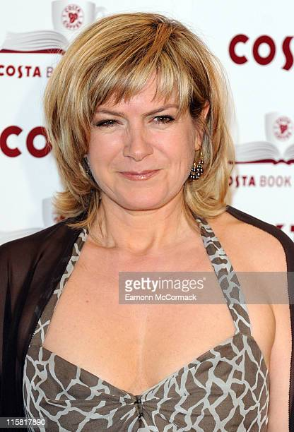 Penny Smith attends the Costa Book Awards at Intercontinental Hotel on January 27 2009 in London England