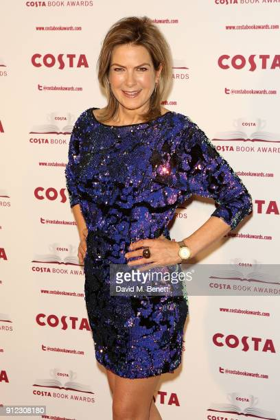 Penny Smith attends the Costa Book Awards at Quaglino's on January 30 2018 in London England