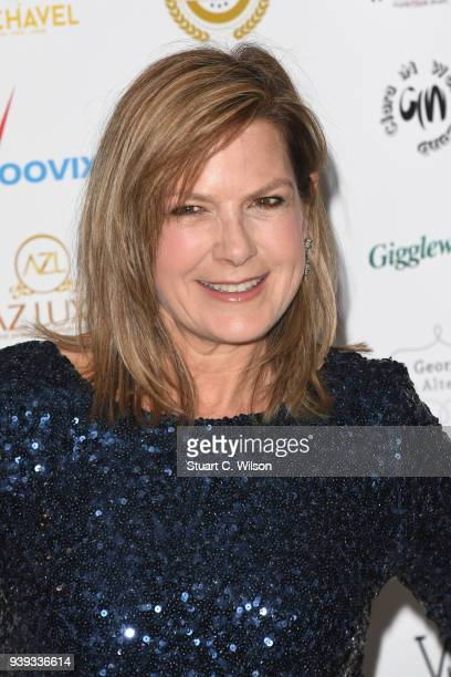 Penny Smith attends the National Film Awards UK at Porchester Hall on March 28 2018 in London England