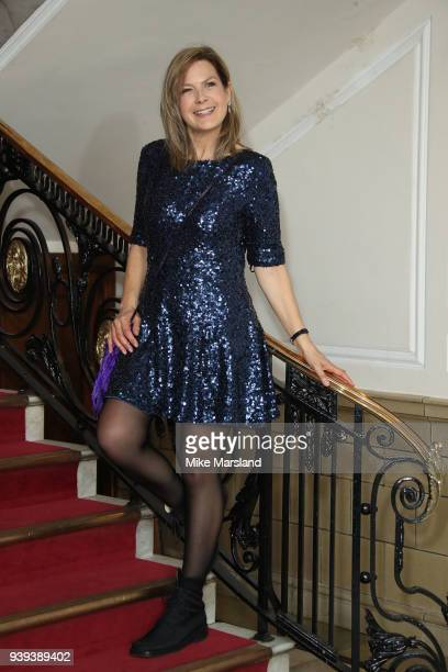 Penny Smith attends the National Film Awards UK at Portchester House on March 28 2018 in London England