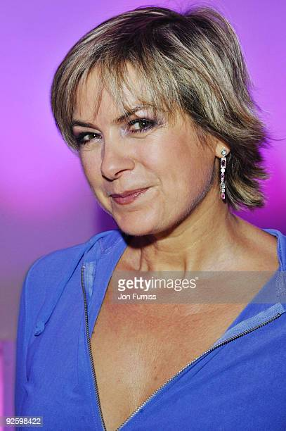 Penny Smith attends the PINKTOBER Women Of Rock Charity Concert at the Royal Albert Hall on November 1 2009 in London England