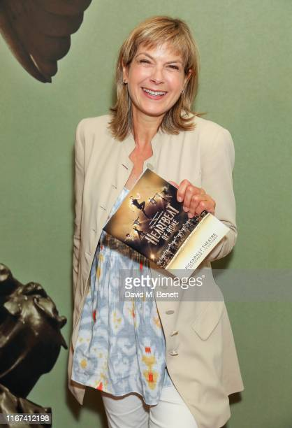 Penny Smith attends the press night performance of Heartbeat Of Home at The Piccadilly Theatre on September 11 2019 in London England