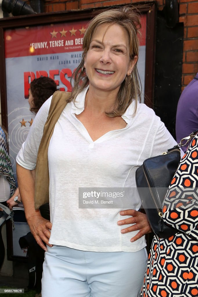 Penny Smith attends the press night performance of 'Pressure' at The Ambassadors Theatre on June 6, 2018 in London, England.