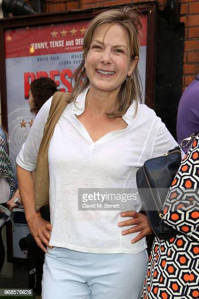 Penny Smith attends the press night performance of 'Pressure' at The Ambassadors Theatre on June 6 2018 in London England